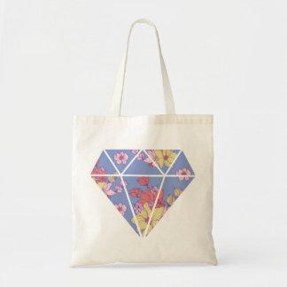 Bolso De Tela Forma moderna del diamante de los estampados de