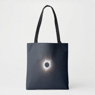 Bolso De Tela Foto del eclipse 2017. de la totalidad