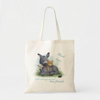 Bolso De Tela Friendship Shiba Donkey Inu &