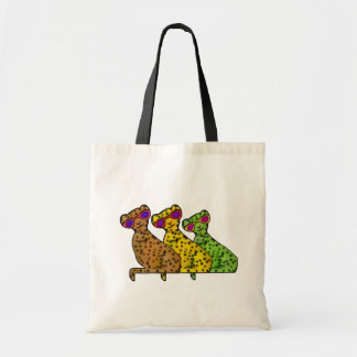 Bolso De Tela Gatos frescos del guepardo