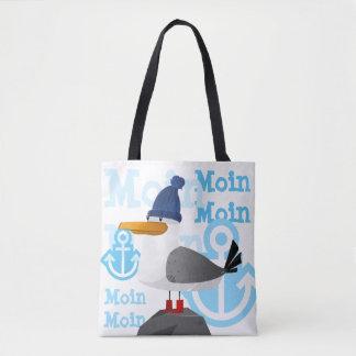 """Bolso De Tela Gaviota de """"Moin Moin"""""""
