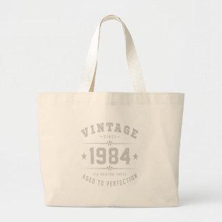 Bolso De Tela Gigante 1984 envejecido a la perfección