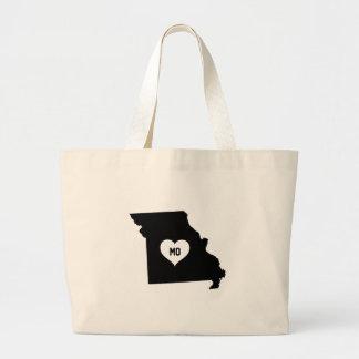 Bolso De Tela Gigante Amor de Missouri