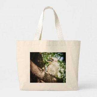 Bolso De Tela Gigante Australia linda Kookaburra