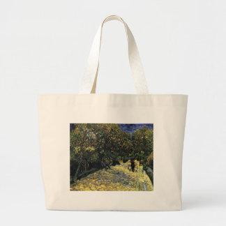 Bolso De Tela Gigante Avenida con los árboles de castaña en Arles - Van