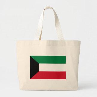 Bolso De Tela Gigante ¡Bajo costo! Bandera de Kuwait