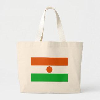 Bolso De Tela Gigante ¡Bajo costo! Bandera de Niger
