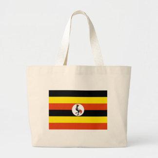 Bolso De Tela Gigante Bandera de Uganda