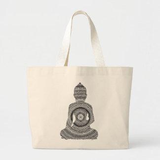 Bolso De Tela Gigante Buda GraphiZen