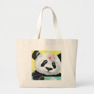 Bolso De Tela Gigante Burbujas de la panda