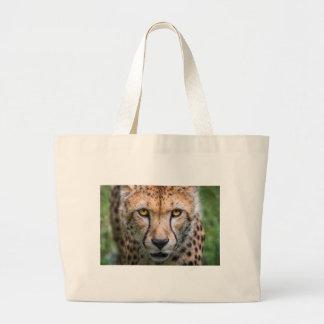 Bolso De Tela Gigante Cabeza del guepardo