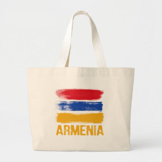 Bolso De Tela Gigante Camisetas de la bandera de Armenia