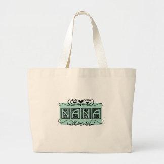 Bolso De Tela Gigante Camisetas y regalos de Nana del letrero