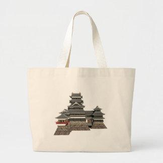 Bolso De Tela Gigante Castillo japonés clásico