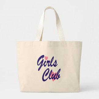 Bolso De Tela Gigante club de los chicas
