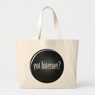"Bolso De Tela Gigante ""Consiguió Internet"", Internet, Internet"