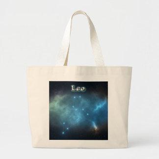 Bolso De Tela Gigante Constelación de Leo