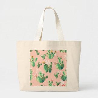 Bolso De Tela Gigante Delantal de los cactus