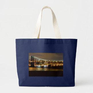 Bolso De Tela Gigante Diseño del boda de Brooklyn Nueva York