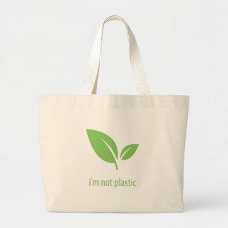 Bolso De Tela Gigante Diseño gráfico verde verde de la vida el |