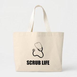 Bolso De Tela Gigante El doctor Scrub Life Funny
