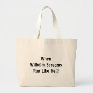 Bolso De Tela Gigante El grito de Wilhelm