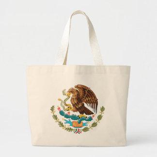 Bolso De Tela Gigante Escudo de armas de México