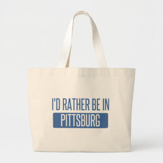 Bolso De Tela Gigante Estaría bastante en Pittsburg