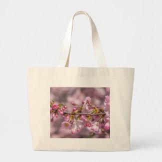 Bolso De Tela Gigante Flores de cerezo