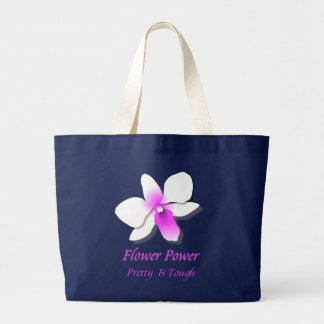 Bolso De Tela Gigante Flower power