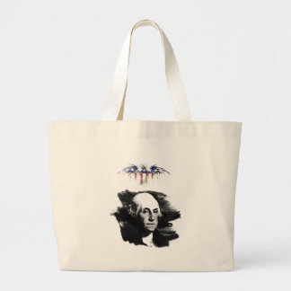 Bolso De Tela Gigante George Washington
