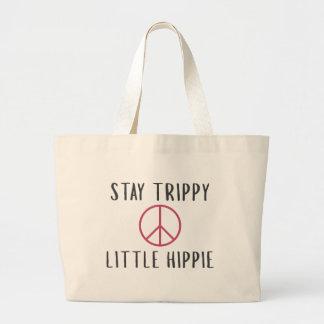 Bolso De Tela Gigante Hippie Trippy