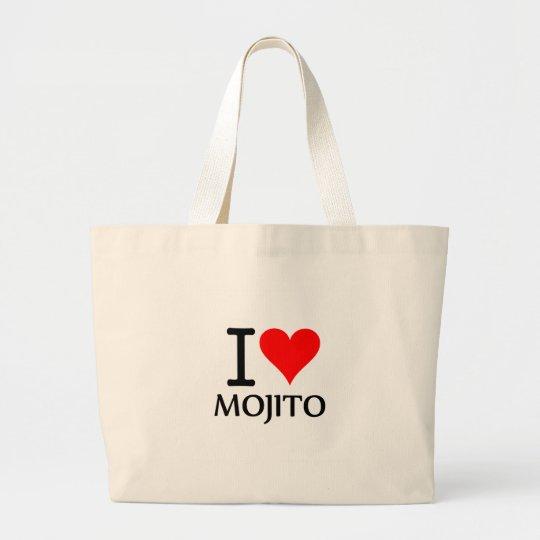 Bolso De Tela Gigante I Love Mojito 2