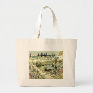 Bolso De Tela Gigante Jardín de Vincent van Gogh en Arles