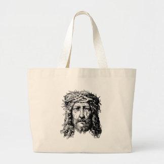 Bolso De Tela Gigante Jefe del Jesucristo