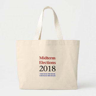 Bolso De Tela Gigante Las elecciones Midterm 2018-Take apoyan al