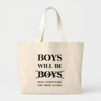 Bolso De Tela Gigante Los muchachos serán muchachos (la maldición