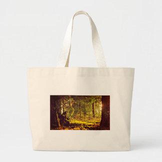 Bolso De Tela Gigante Luz en el bosque