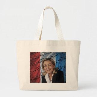 Bolso De Tela Gigante Marine Le Pen