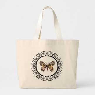 Bolso De Tela Gigante mariposa anillada manchada