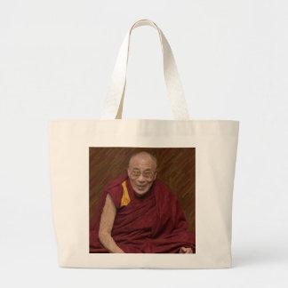 Bolso De Tela Gigante Meditación budista Yog del Buddhism de Dalai Lama