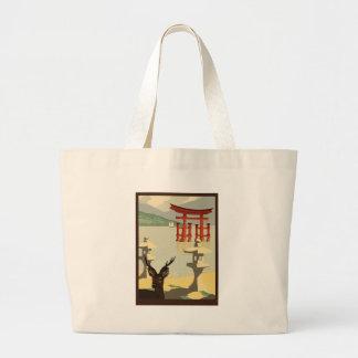 Bolso De Tela Gigante Miyajima Torii