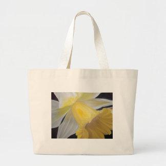 Bolso De Tela Gigante Narciso amarillo