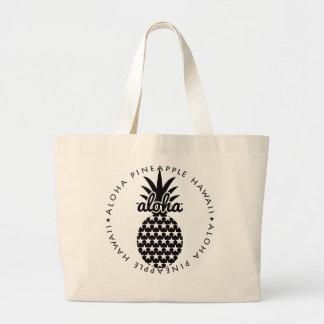 Bolso De Tela Gigante pineapple(star)★049