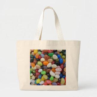 Bolso De Tela Gigante Plantilla de la textura del caramelo del verde