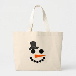 Bolso De Tela Gigante Productos del muchacho del muñeco de nieve
