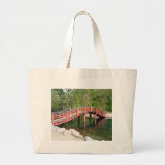 Bolso De Tela Gigante Puente