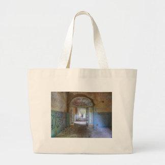 Bolso De Tela Gigante Puertas y pasillos 03,0, lugares perdidos, Beelitz