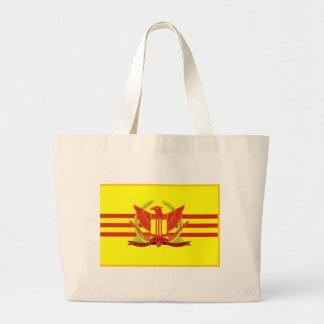 Bolso De Tela Gigante República de la bandera de las fuerzas militares