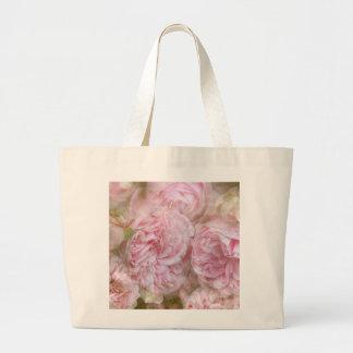 Bolso De Tela Gigante Rosas románticas - tic de novela Roses
